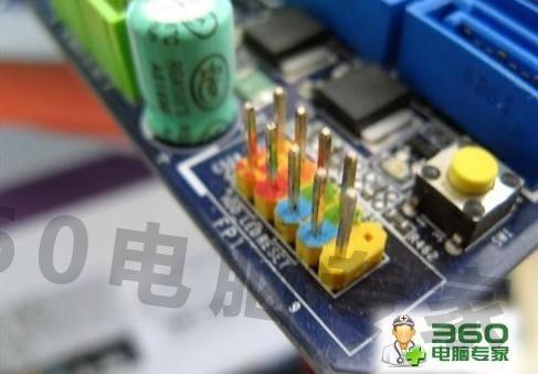 电脑主板跳线连接技巧 的解决方案图片